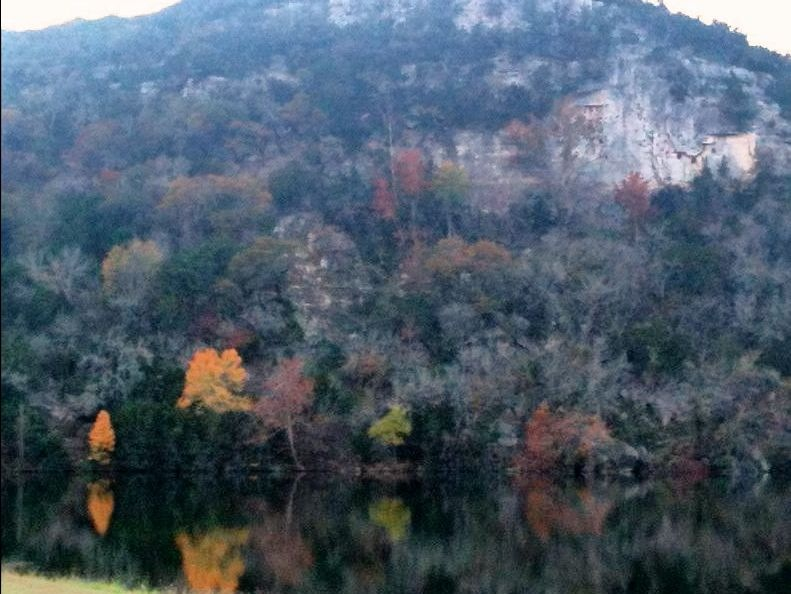 The lake in autumn