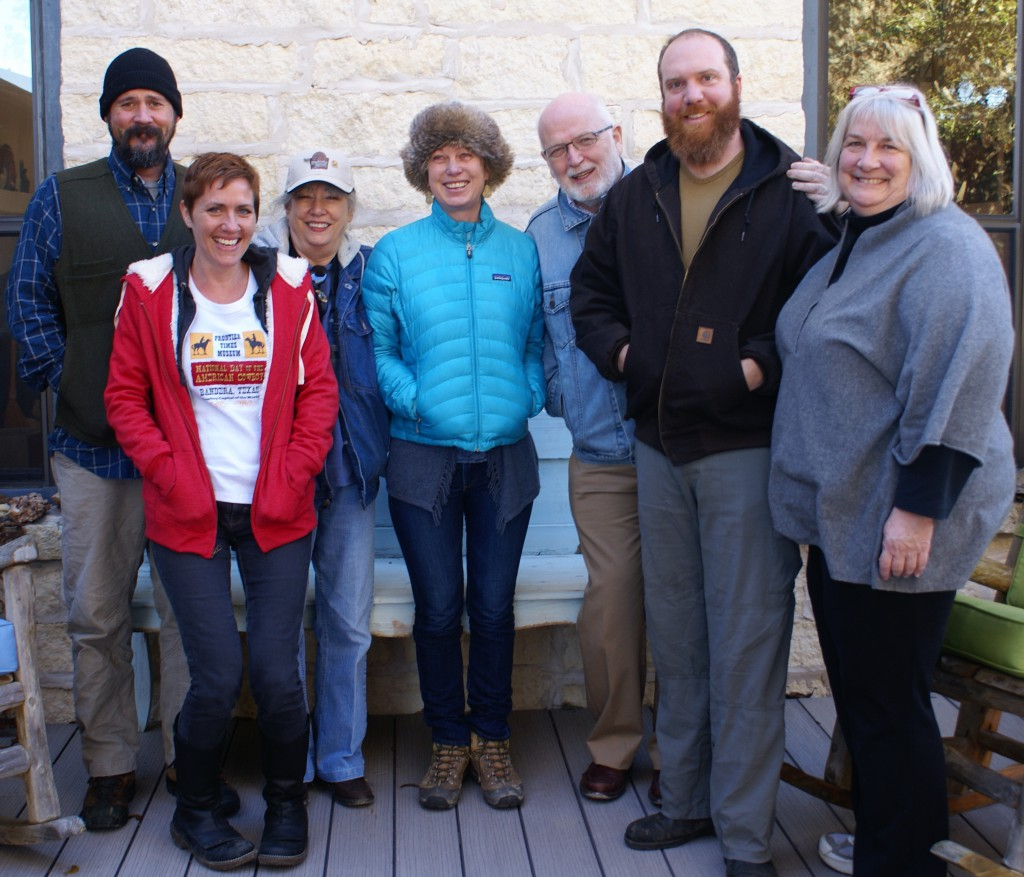 Members of the Madroño Ranch advisory board. Photo by Corinne Teed.