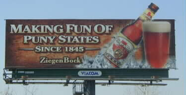 Billboard: making fun of puny states since 1845