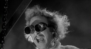 Gene Wilder as Dr. Frankenstein