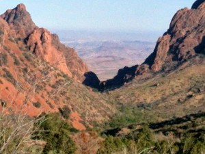 The Window, Chisos Basin, Big Bend National Park