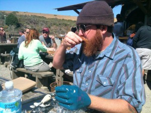 Jesse Griffiths at Hog Island Oyster Co.